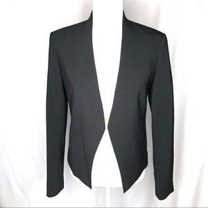 Theory Lanai Urban Virgin Wool Blend Black Jacket